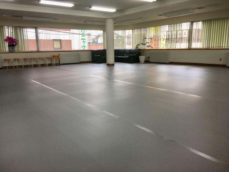 天王台レンタルスタジオ ヨガ、ダンスなど、教室運営の室内の写真