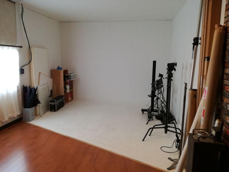 C&G レンタルフォトスタジオ スタジオ貸切の室内の写真