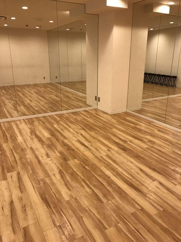 ダンススタジオ&レンタルスペース Bスタジオの室内の写真