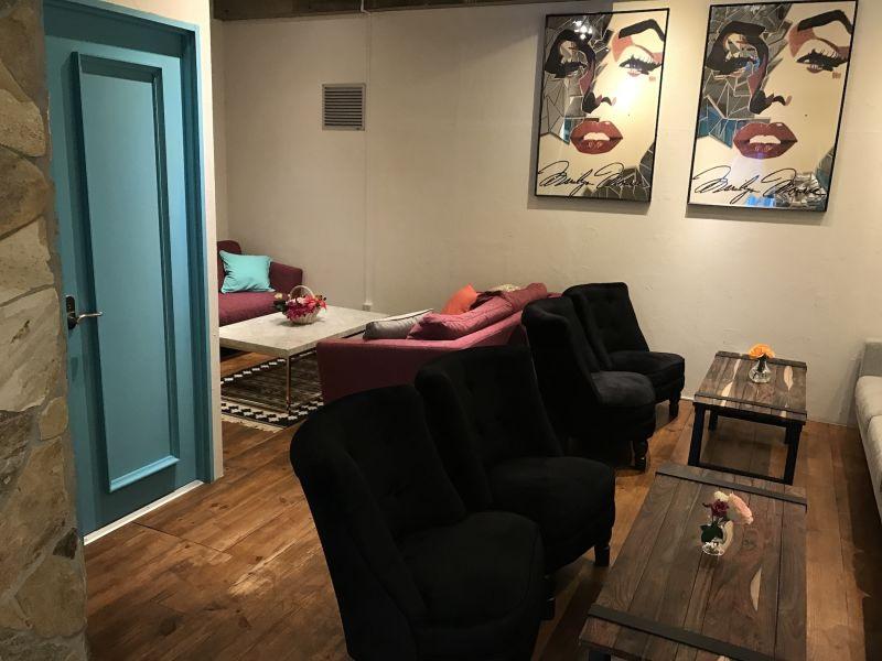 アラウカーリア サロンスペースの室内の写真