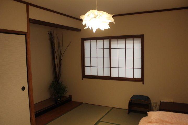 鶴橋商店街キッチン充実の一軒家! 個室の和室の室内の写真