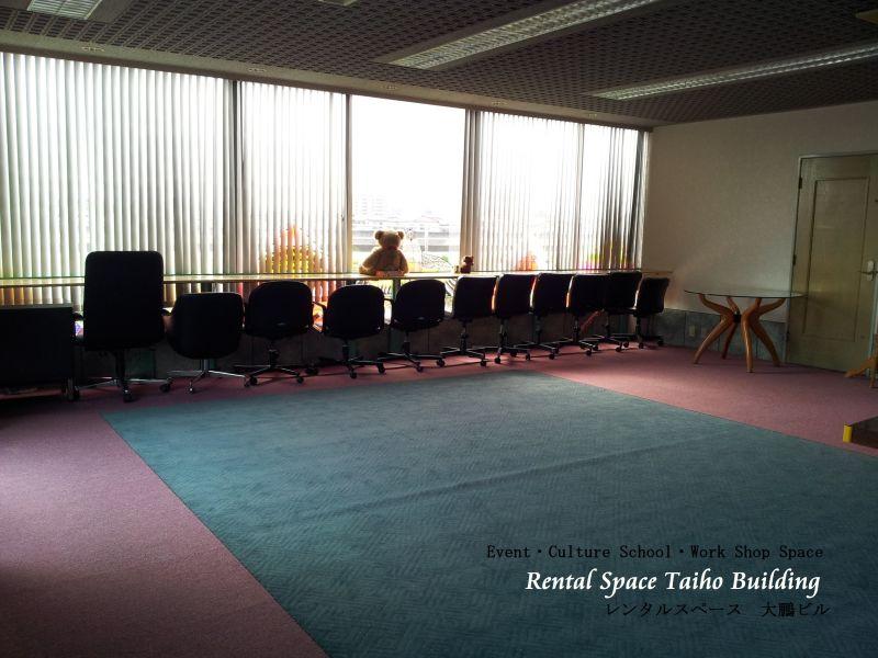 スカイツリーが見えるイベントスペース『大鵬ビル』 イベントスペースの室内の写真