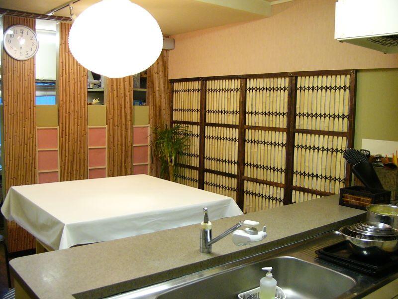 ポケットキッチン渋谷料理教室 レンタルキッチン ルームAの室内の写真