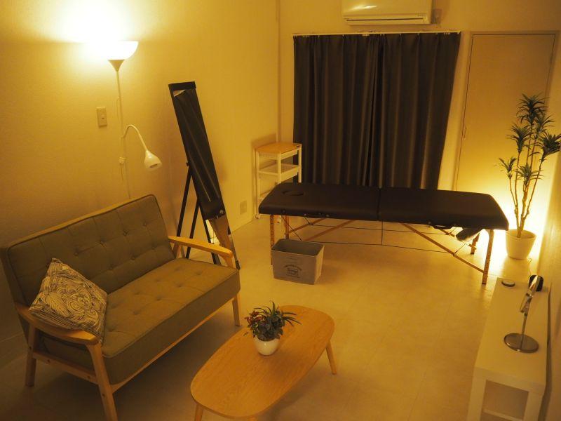 ◆エブリ北堀江◆大阪・堀江のレンタルサロン・エステスペース❗️ レンタルサロン、多目的スペースの室内の写真