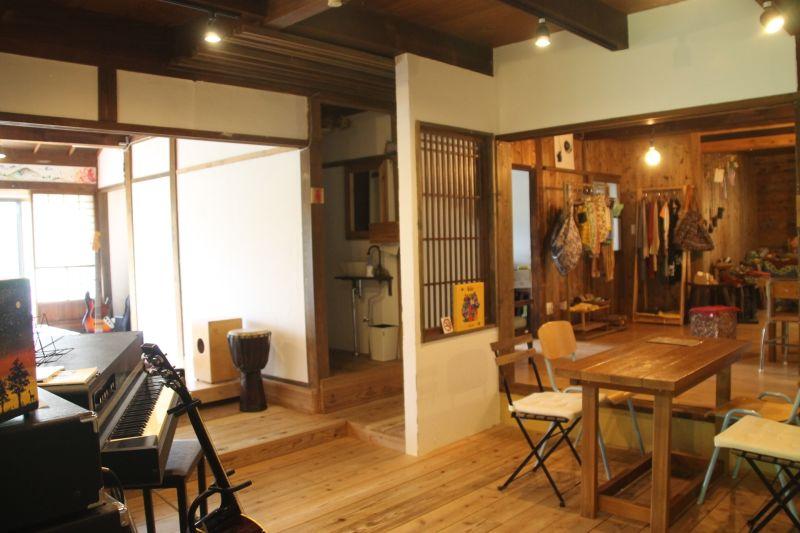 音楽スタジオGreenchord 多目的スペースの室内の写真