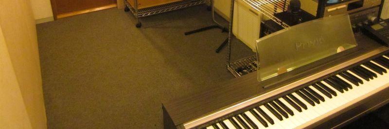 ヴァーヴミュージックスクール Cスタジオの室内の写真