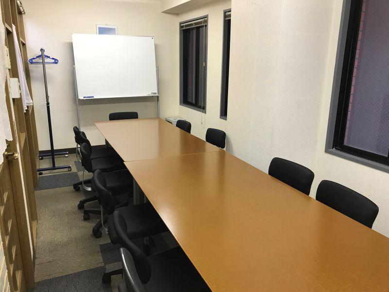 澤田聖徳ビル K会議室 終日利用プランの室内の写真