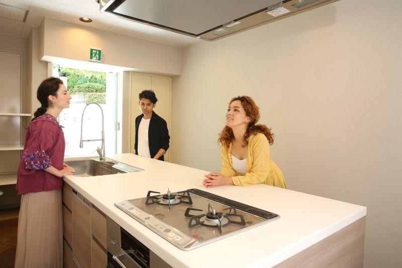 キッチン&オフィス 六本木の室内の写真