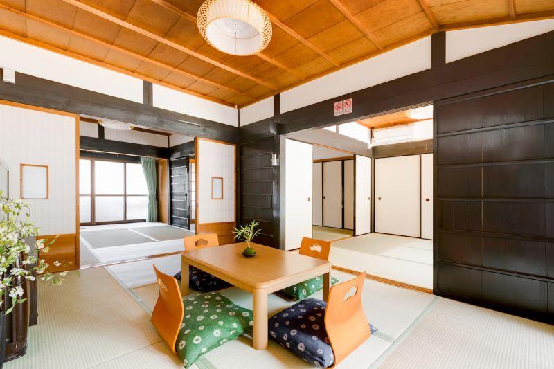 貸別荘【時乃家 奈良吉野】 古民家レンタルスペース11名以上の室内の写真