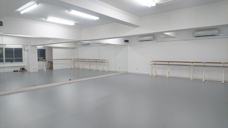 小林恭バレエ団 王子スタジオ 王子スタジオの室内の写真