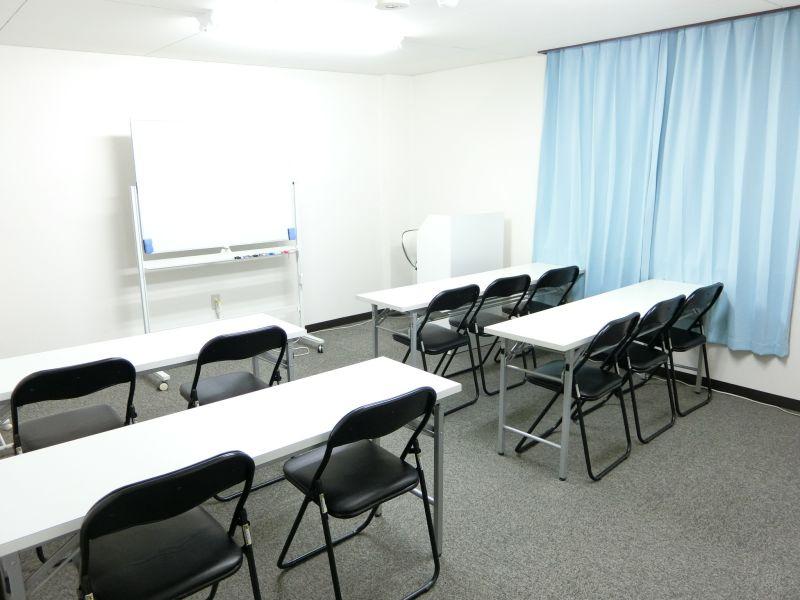 THE貸会議室☆淀屋橋 10人貸会議室6階603号室の室内の写真