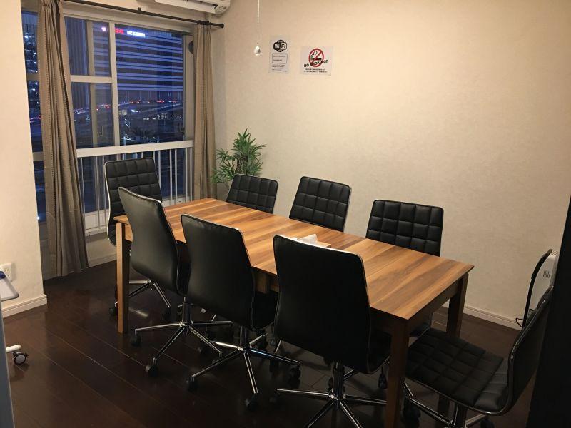 RAKUNA 名古屋 リニューアル会議室の室内の写真