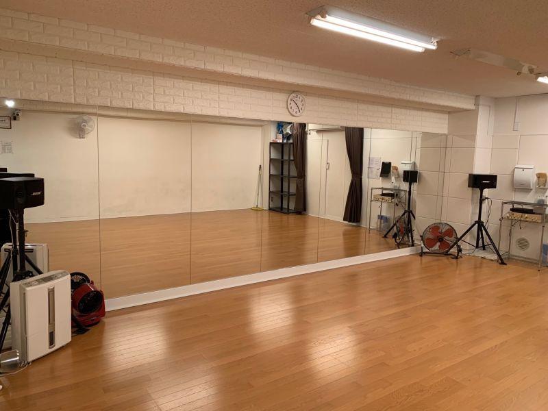 RIZE DANCESTUDIO レンタルスタジオの室内の写真
