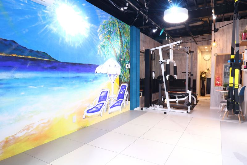 パーソナルレンタルジムFeel レンタルスタジオジムの室内の写真