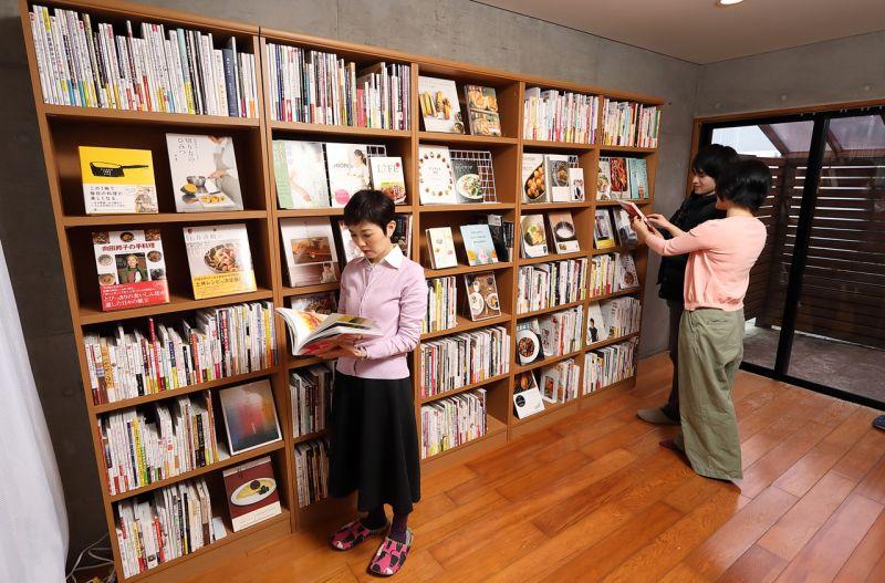 自由ケ丘 COOKシェアスペース 「食」の本屋の室内の写真