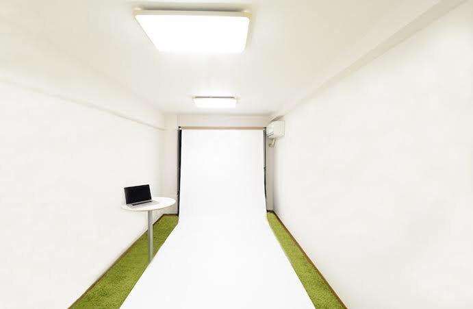代官山の小さな可愛いスタジオ 代官山の可愛いスタジオの室内の写真