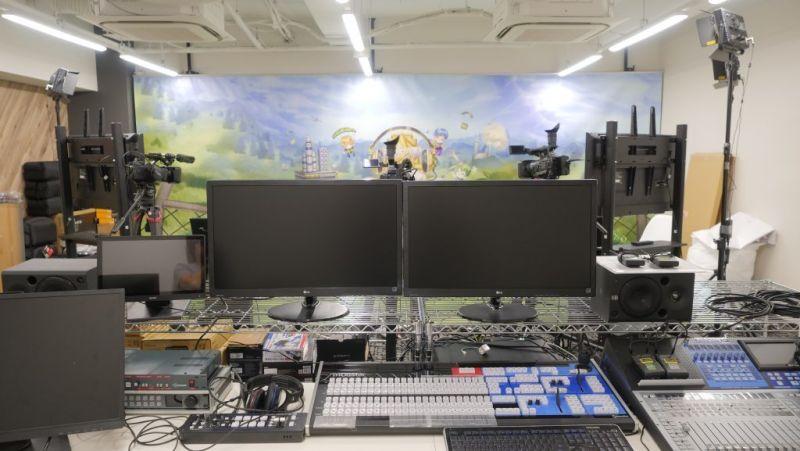 BlueOceanスタジオ ライブ配信スタジオの室内の写真