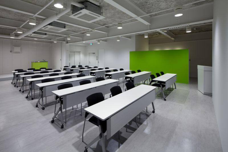 株式会社モリシタ セミナールーム セミナールームの室内の写真