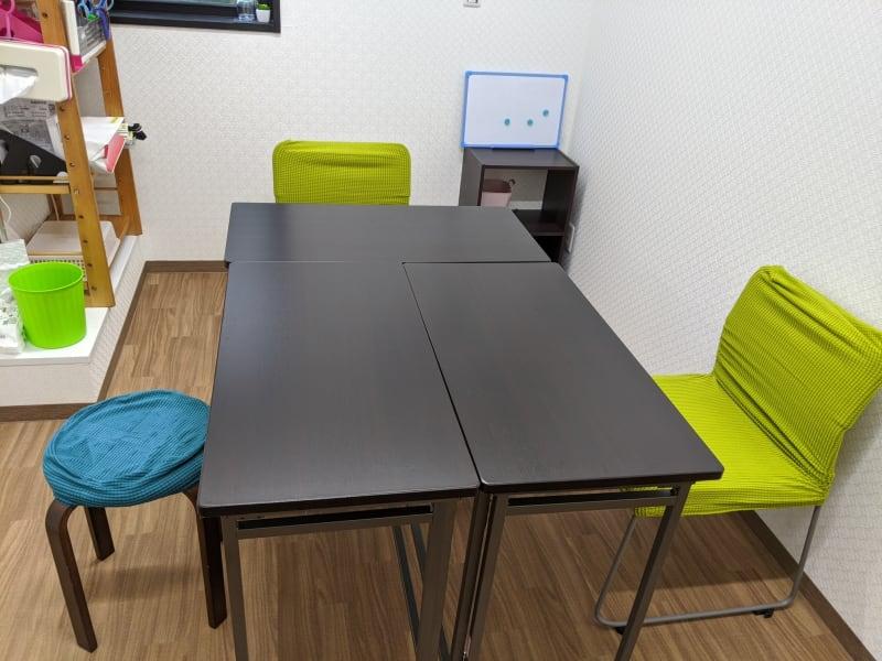 レンタルミニスペース フクリズム 2階の小部屋の室内の写真