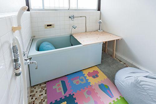 アイビーカフェ府中 昭和レトロ・昭和の浴室・おふろ席の室内の写真