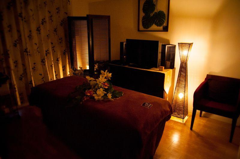 Aoyama Beauty サロンスペースの室内の写真