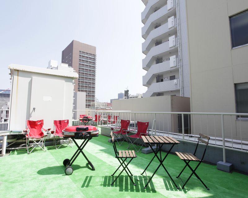 新橋・虎ノ門SORA ~屋上貸切ビアガーデン・BBQ~の室内の写真