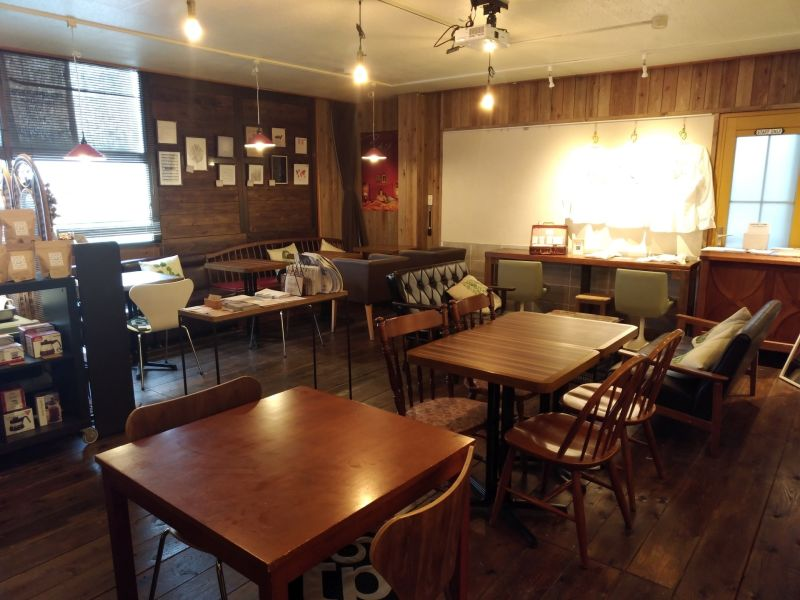 喫茶スーズ焙煎所 多目的スペース、レンタルサロンの室内の写真