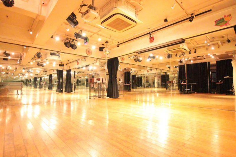 スタジオディライツ ダンスレンタルスペースの室内の写真