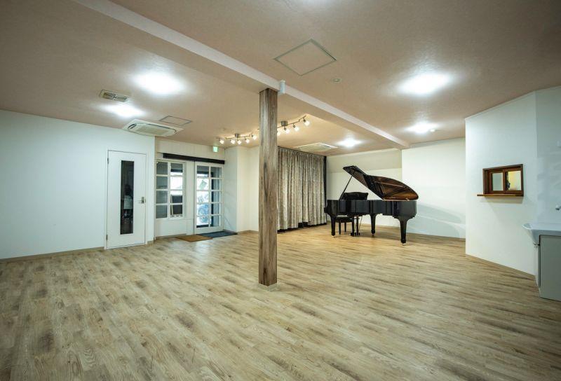 相模原レンタルスタジオKUNST Gスタジオ通常利用の室内の写真