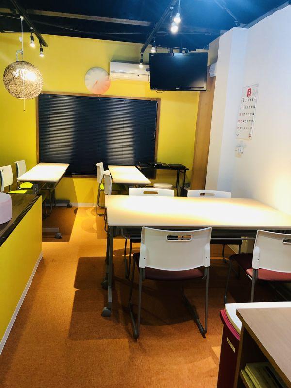 会議用レンタルスペース 貸し会議室 研修の室内の写真