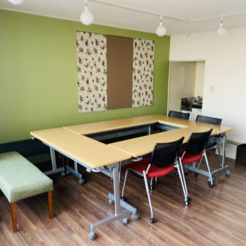 まちの会議室★東高円寺 多目的スペース<オリーブ>の室内の写真