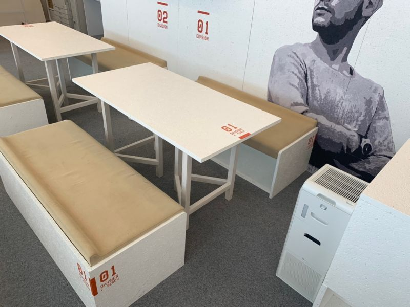 オフィスパーク 六本木コークス ブース1の室内の写真