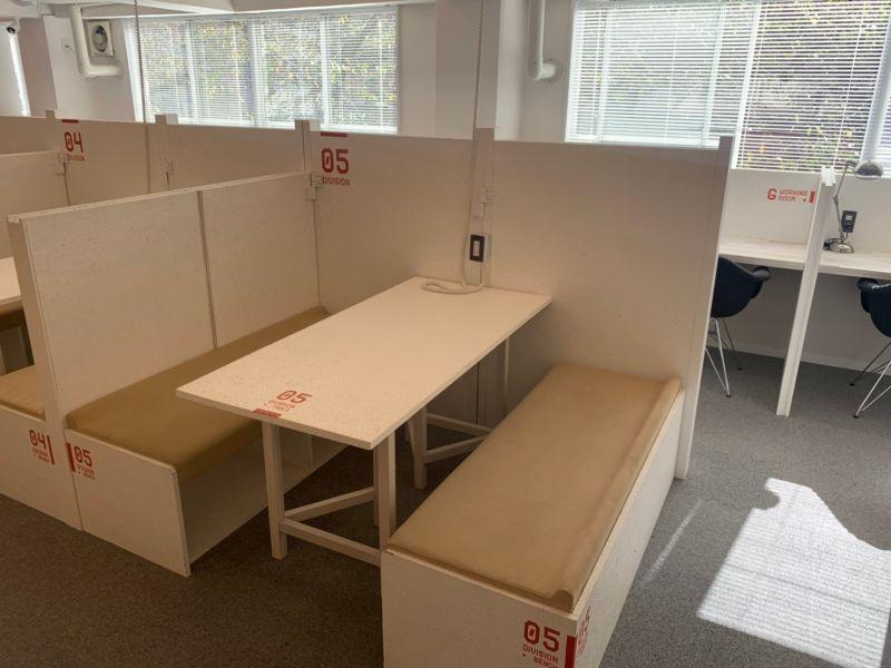 オフィスパーク 六本木コークス ブース5の室内の写真