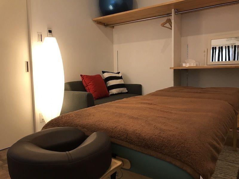 出張ボディケアルーム レンタルサロンスペースの室内の写真