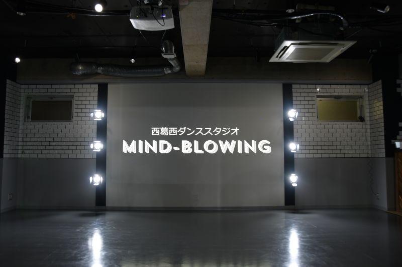 鏡の対面の壁はスクリーンとして使用できます。 - mind-blowing レンタルダンススタジオの室内の写真