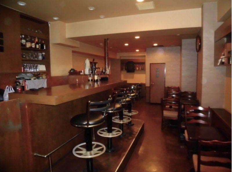 Cafe Bar Gemini Barスタイルの室内の写真