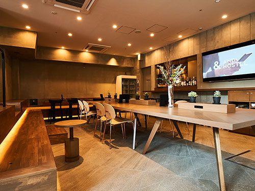 堺筋本町駅徒歩5分のスペース 最大30人収容のイベントスペースの室内の写真