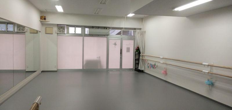 バレエスタジオフィノ レンタルスタジオの室内の写真