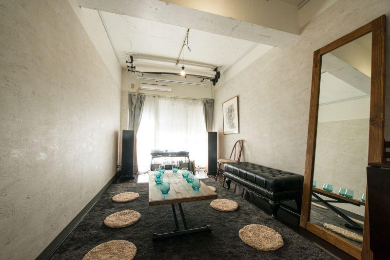 基本のレイアウト - 「実験」貸しスタジオ・ルーム Jikkenroomの室内の写真