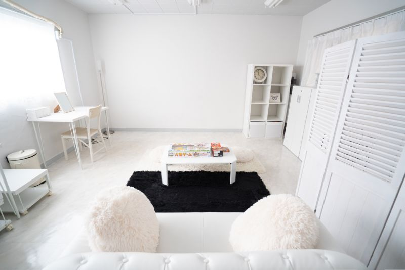 スタジオホワイトアリス 撮影スタジオ、多目的スペースの室内の写真