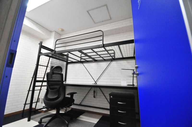 KIZASU.Office 2名個室 1 day ユースの室内の写真