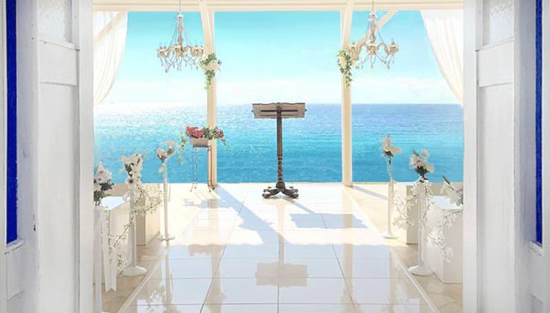 La Peninsula 海辺のチャペル ビーチの室内の写真