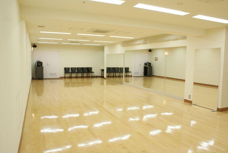 ファースト・プレイス東京 第1スタジオの室内の写真