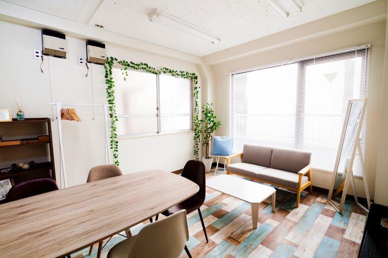 フレンチ神田会議室の室内の写真