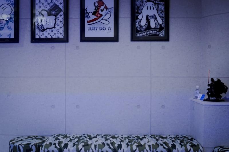 プロテインBAR フォース レンタルスペースの室内の写真