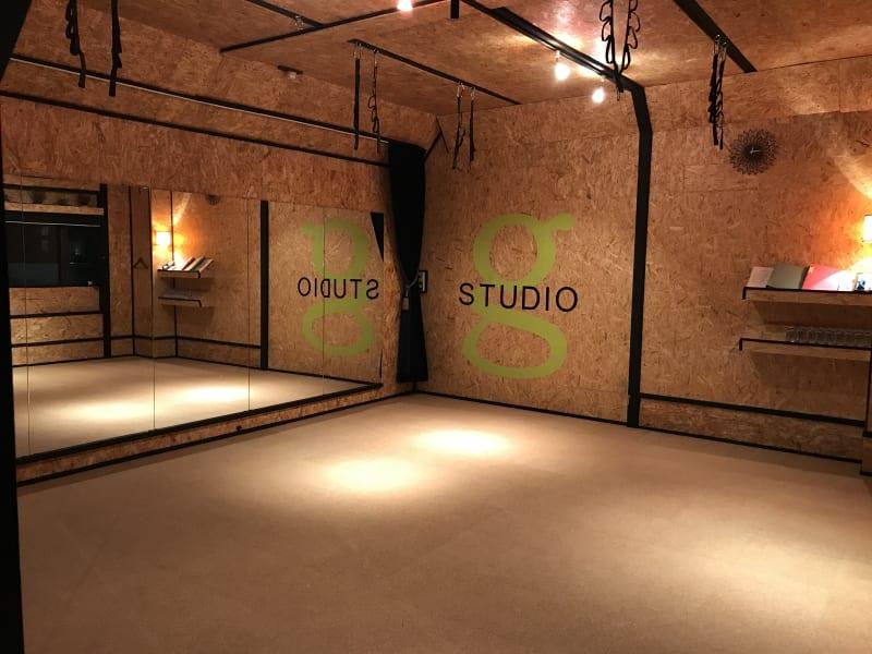 G studio ヨガスタジオ・貸スタジオの室内の写真