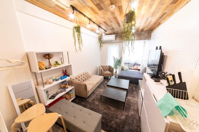 115_fika池袋サンシャイン キッチンスペースの室内の写真