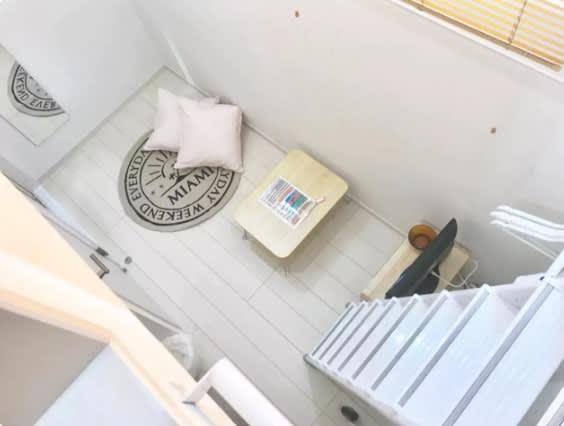 Nano北新宿 ロフト付き多目的作業スペースの室内の写真