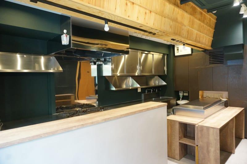 イイキッチン レンタルキッチン(路面店舗)の室内の写真
