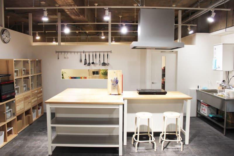 レンタルキッチン35㎡ - レンタルスペース  パズル浅草橋 レンタルキッチン スペースの室内の写真